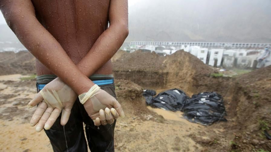ООН: Жертвите на тайфуна Хайян са близо 4500