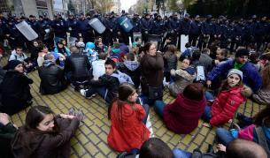 Протестиращи студенти