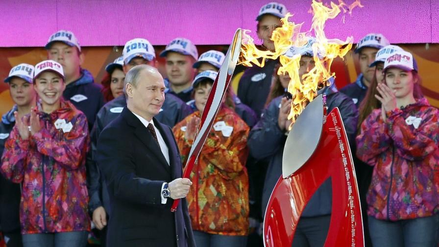 Как руснаците ще ходят на Олимпиадата в Сочи