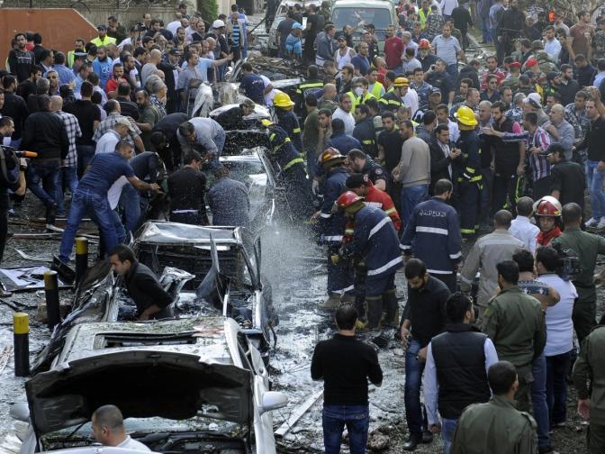 Атентат пред иранското посолство в Бейрут