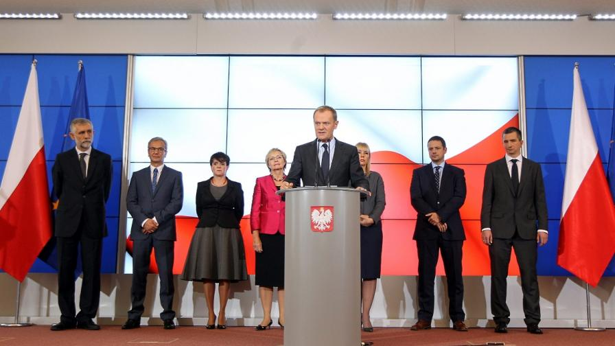 Полският премиер прекрои кабинета