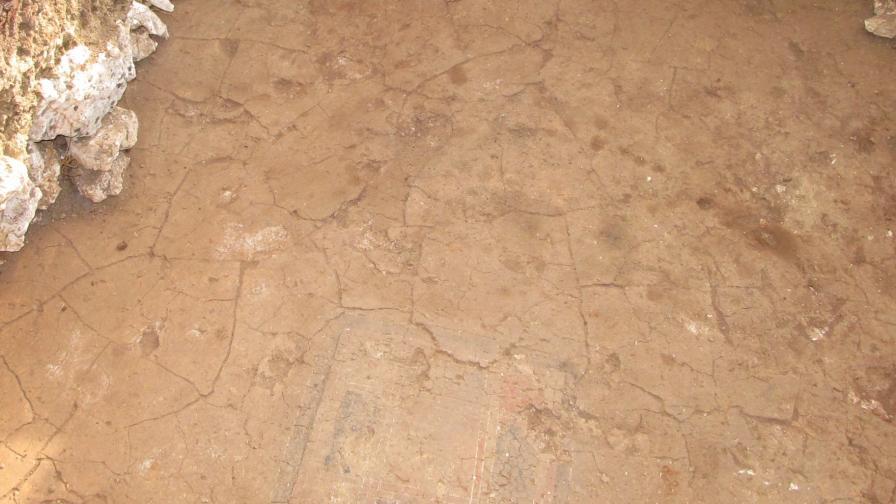Елементи от новооткритата гробница в Свещари