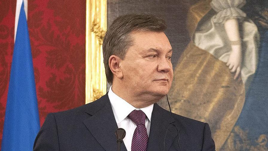 Янукович подписа закона за амнистиране на протестиращи