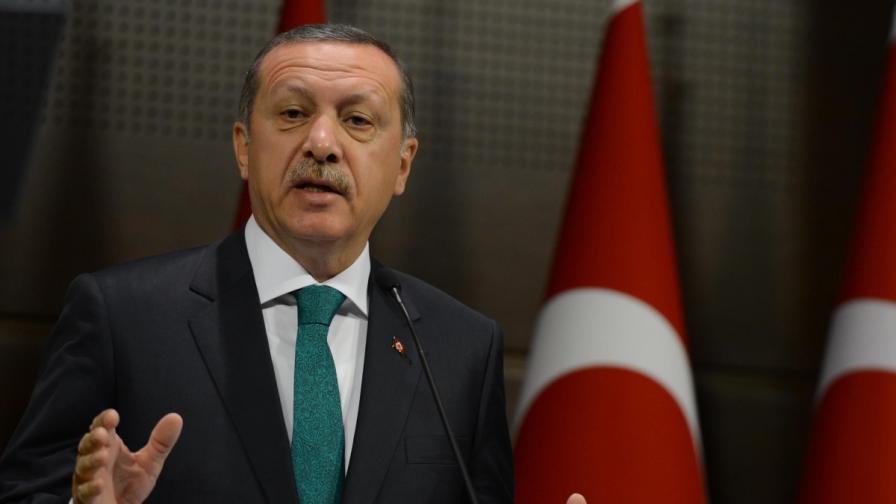 Ердоган: В Турция има 600 хил. сирийски бежанци