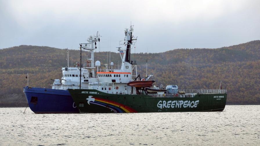 """Русия не прие решение на Морския трибунал за """"Грийнпийс"""""""