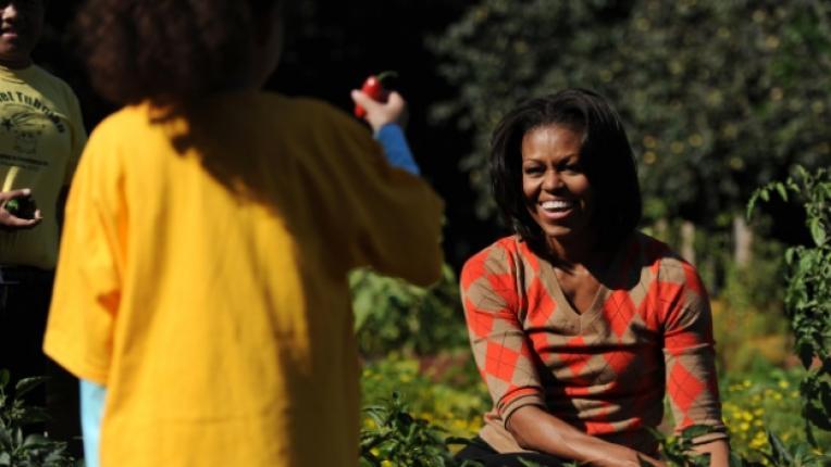 Мишел Обама готварска книга градинарство