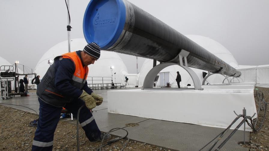 """""""Газпром"""" и OMV подписаха споразумение за """"Южен поток"""""""