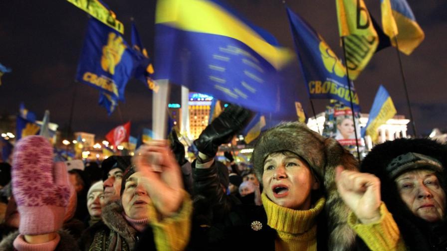 В Киев чакат 1 млн. души на митинга в неделя