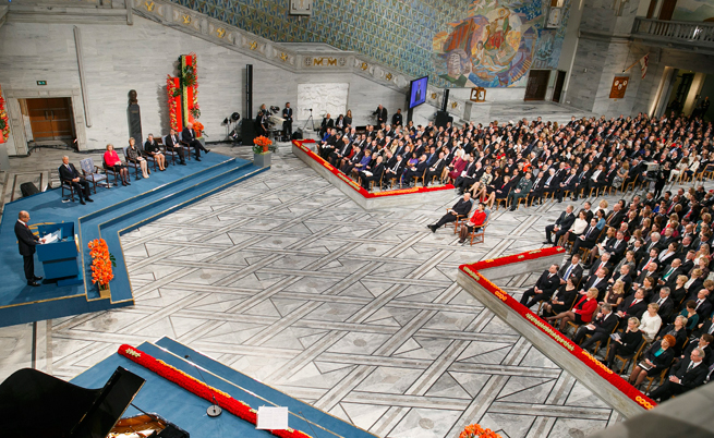 Церемониите за Нобеловите награди - любопитни факти и числа