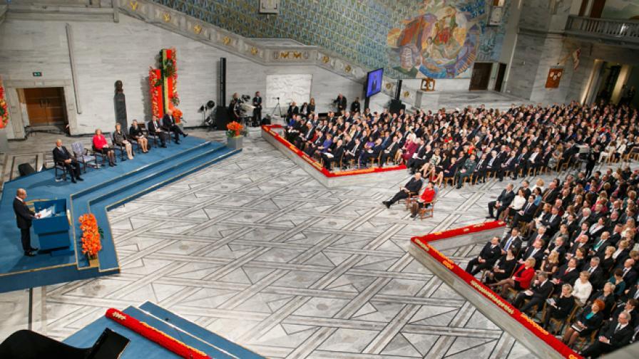 Церемониите за Нобеловите награди - факти и числа