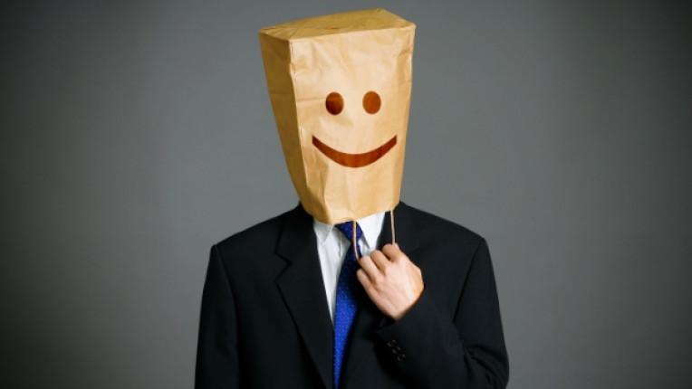 мъж костюм забавен усмивка