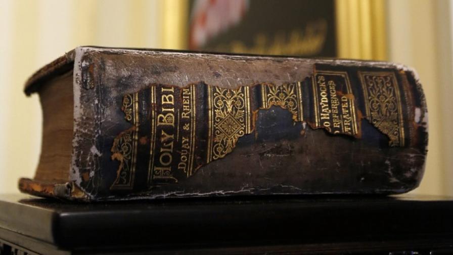 Показват най-старото копие на Десетте Божи заповеди