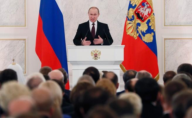 Владимир Путин: Русия не претендира за световна или регионална хегемония
