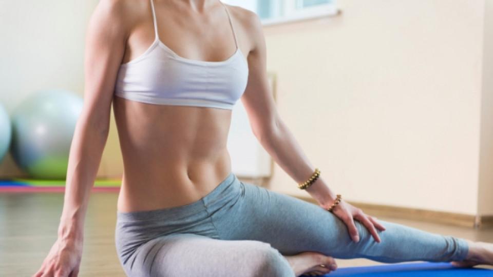 йога корем упражнение
