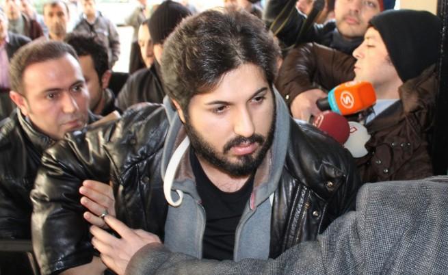 Реза Зараб по време на корупционния скандал през 2013 г.