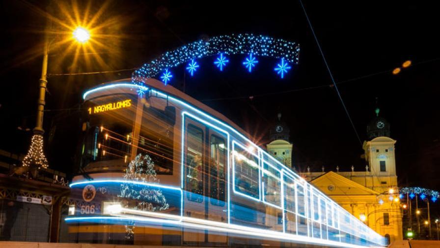 Защо австриец дърпа 43-тонен трамвай