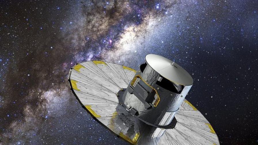 Сателит ще начертае карта на милиард звезди