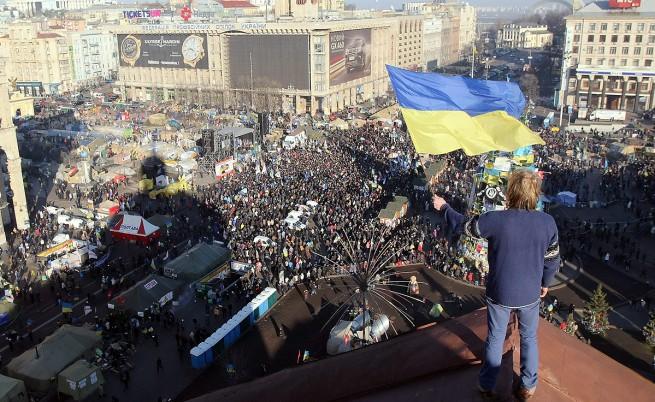 Опозицията в Украйна създаде Общонародна организация