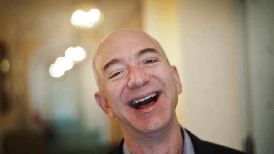 Един от първите клиенти на Amazon е бил от България