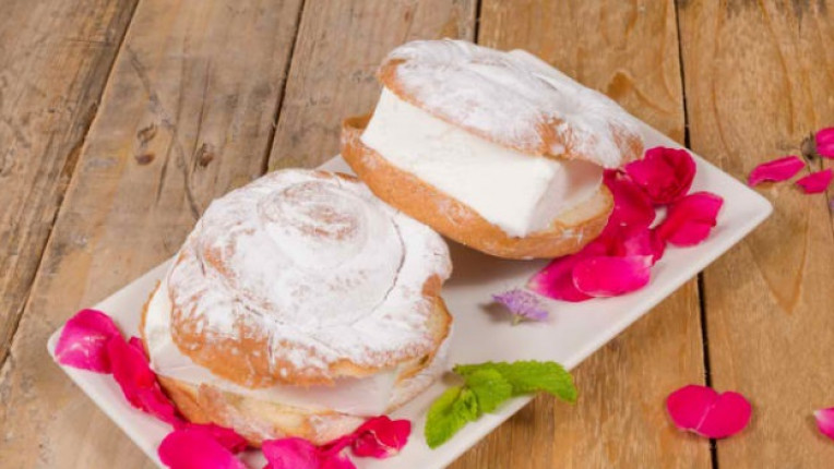 пудра захар десерт