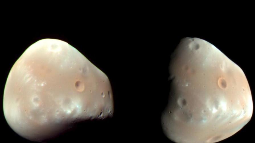 Марсианската луна Фобос