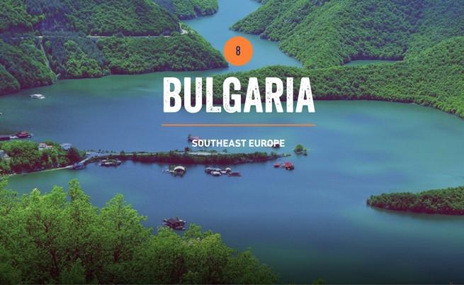 България в топ 10 на местата за посещение през 2014 г.
