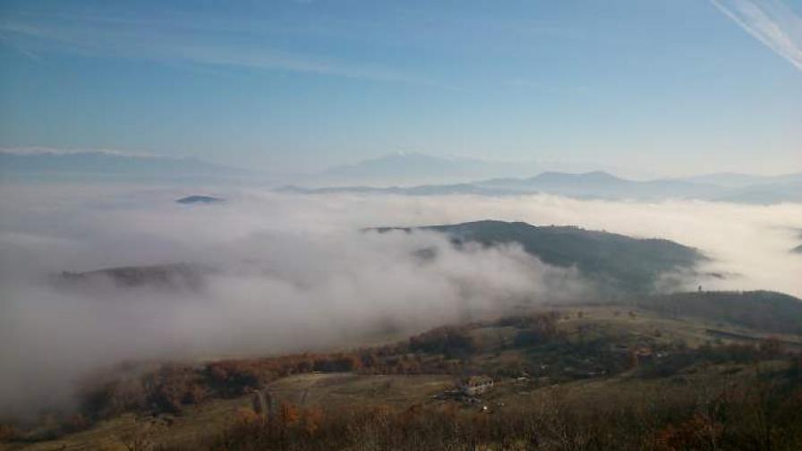 Жълт код заради мъгла в 25 области
