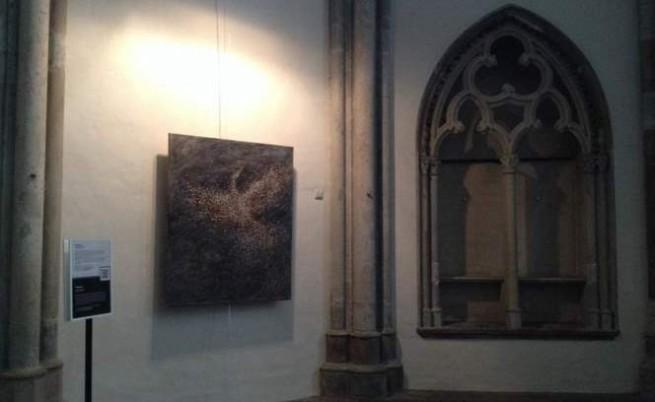 Друга творба на Борислав Варадинов, изложена в църквата