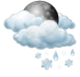 Предимно облачно, слаб сняг